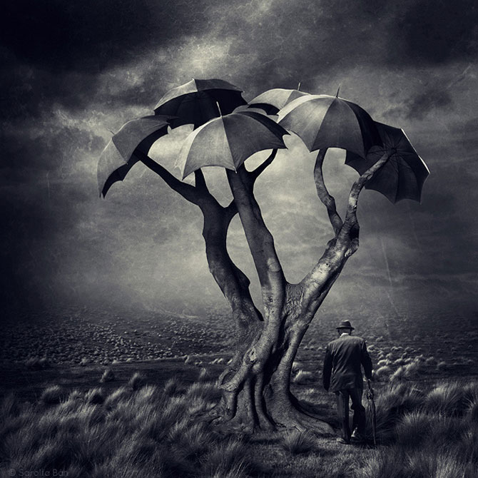 Noi colaje suprarealiste de la Sarolta Ban - Poza 4