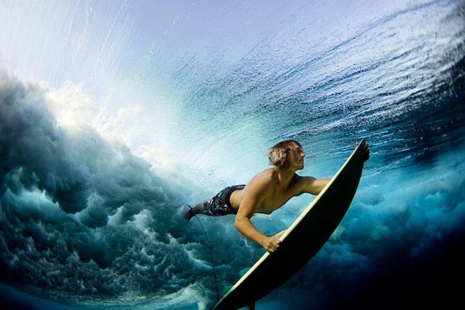 Surf sub valurile oceanului, cu Lucia Griggi - Poza 1