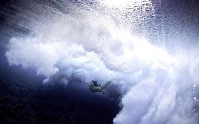 Surf sub valurile oceanului, cu Lucia Griggi - Poza 2