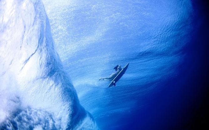 Surf sub valurile oceanului, cu Lucia Griggi - Poza 3