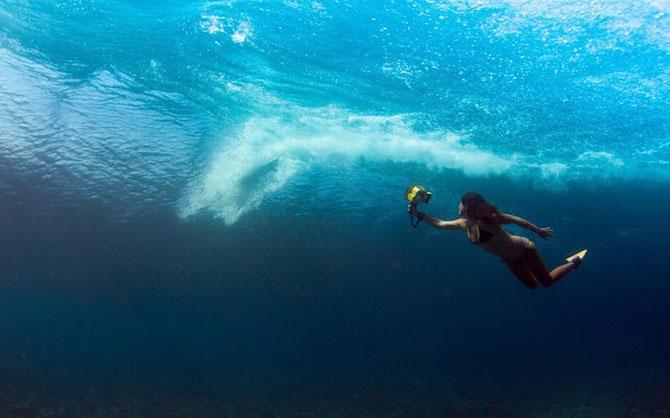 Surf sub valurile oceanului, cu Lucia Griggi - Poza 7