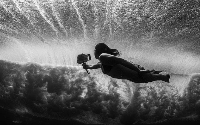 Surf sub valurile oceanului, cu Lucia Griggi - Poza 8
