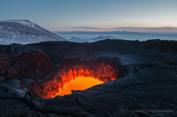 Calatorie spre varful vulcanului, in Rusia - Poza 2