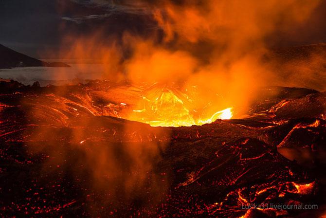 Calatorie spre varful vulcanului, in Rusia - Poza 3