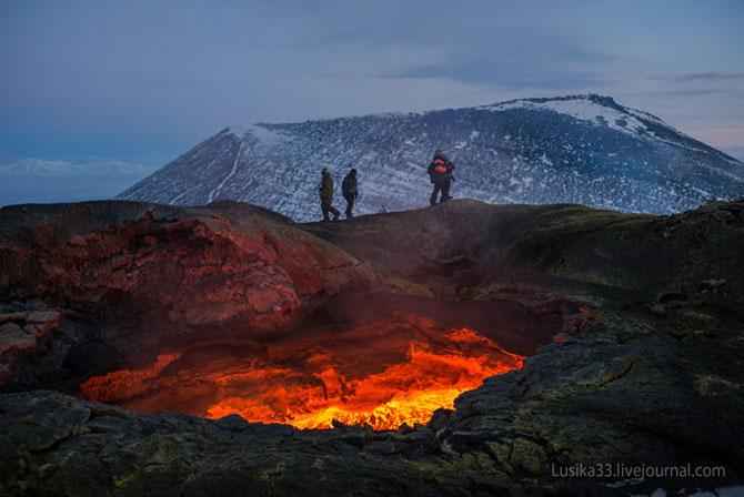 Calatorie spre varful vulcanului, in Rusia - Poza 4