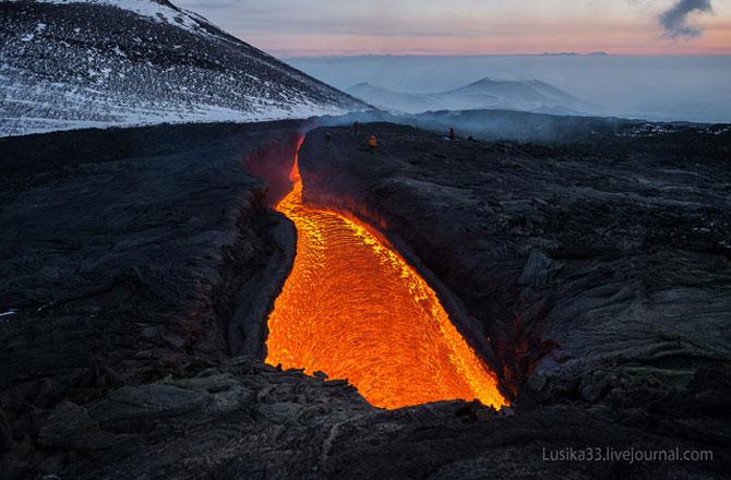 Calatorie spre varful vulcanului, in Rusia - Poza 5