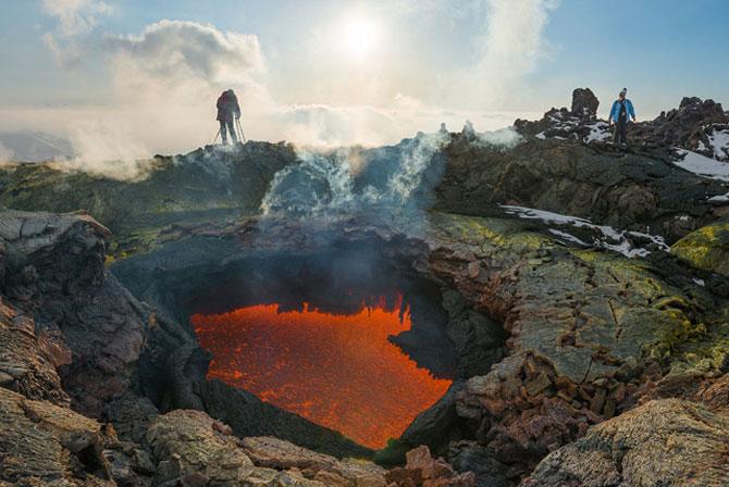 Calatorie spre varful vulcanului, in Rusia - Poza 6