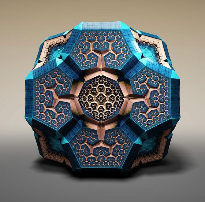 Fascinantii fractali Faberge ai lui Tom Beddard - Poza 1