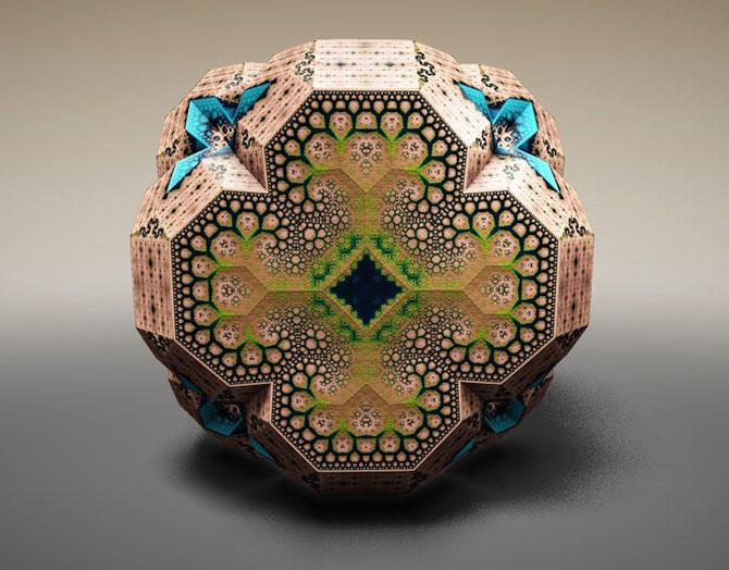 Fascinantii fractali Faberge ai lui Tom Beddard - Poza 2