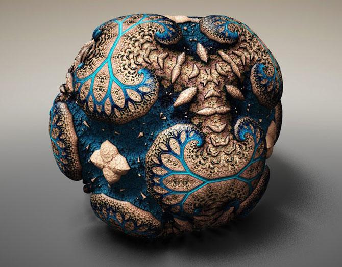 Fascinantii fractali Faberge ai lui Tom Beddard - Poza 3
