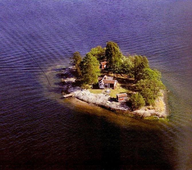 O insula privata, numai pentru artisti - Poza 1