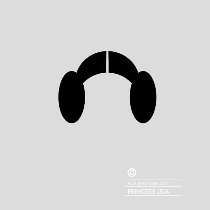 Coafor minimalist cu personaje celebre, de Patricia Povoa