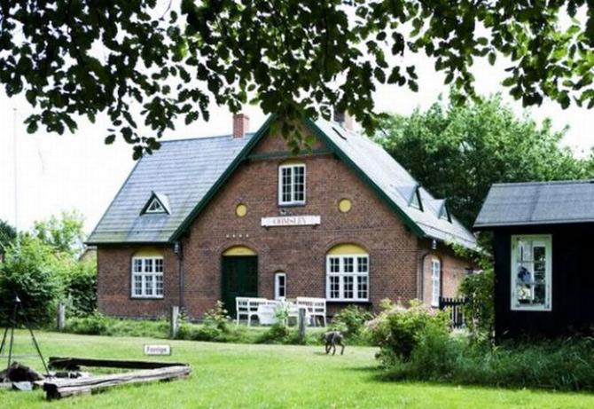 Casa din gara? Gara din casa - Aarhus, Danemarca - Poza 1