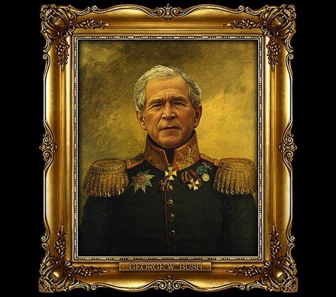 DeNiro, Jobs, Bush – numai buni de pusi in rama aurita - Poza 1