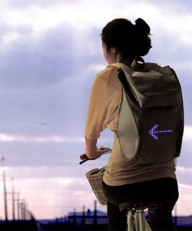 Semnalizare la purtator pentru biciclisti - Poza 2