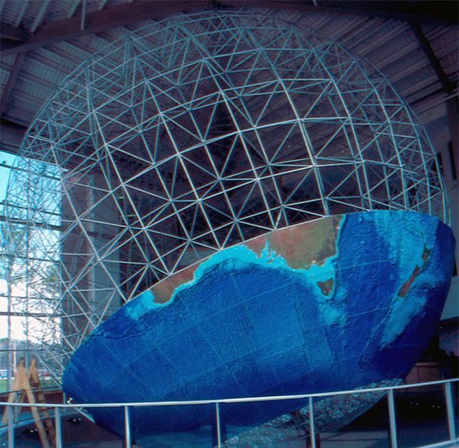 Cea mai mare planeta Pamant... de pe Pamant - Poza 4
