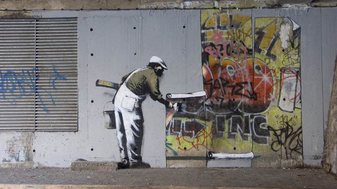 Anonimus de secol 21: Banksy