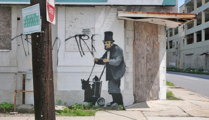 Anonimus de secol 21: Banksy - Poza 12