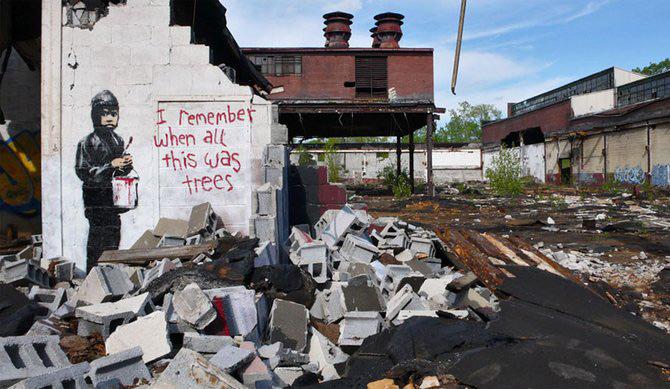 Anonimus de secol 21: Banksy - Poza 14
