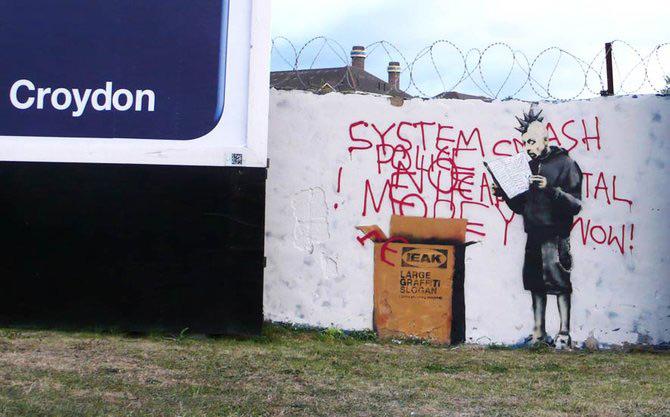 Anonimus de secol 21: Banksy - Poza 16