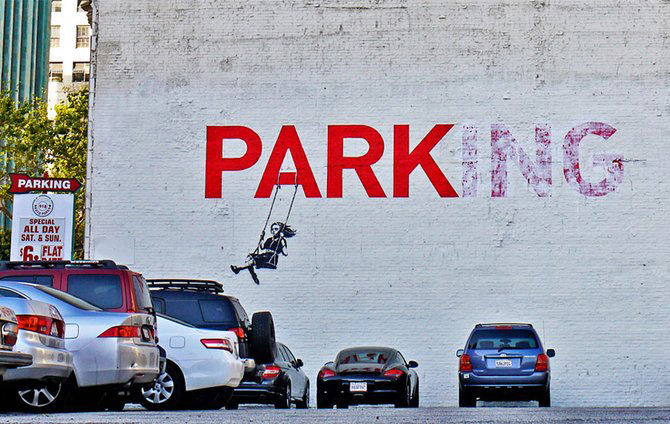 Anonimus de secol 21: Banksy - Poza 17
