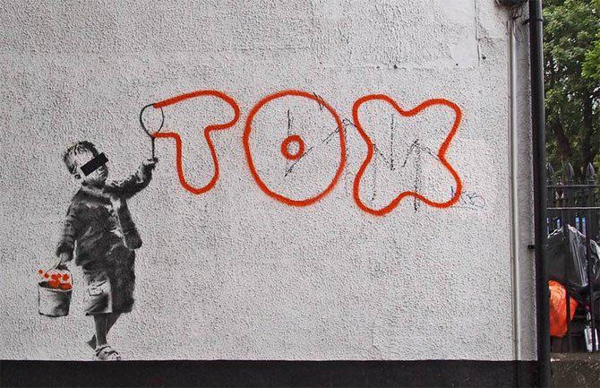Anonimus de secol 21: Banksy - Poza 19