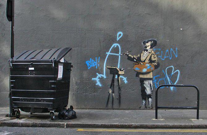 Anonimus de secol 21: Banksy - Poza 20
