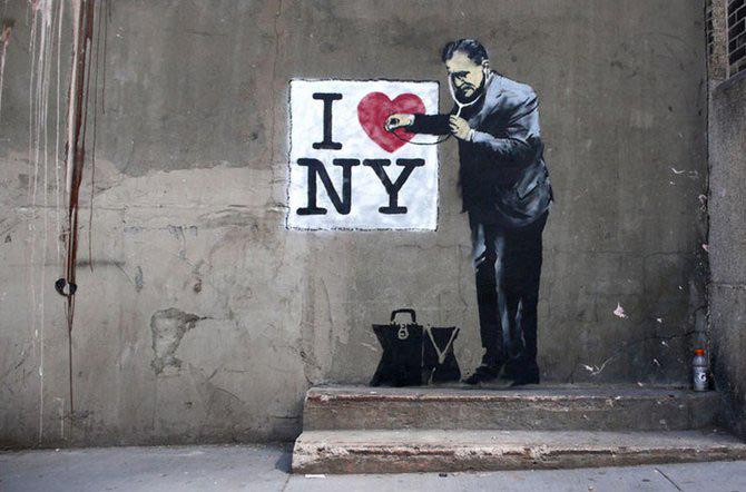 Anonimus de secol 21: Banksy - Poza 21