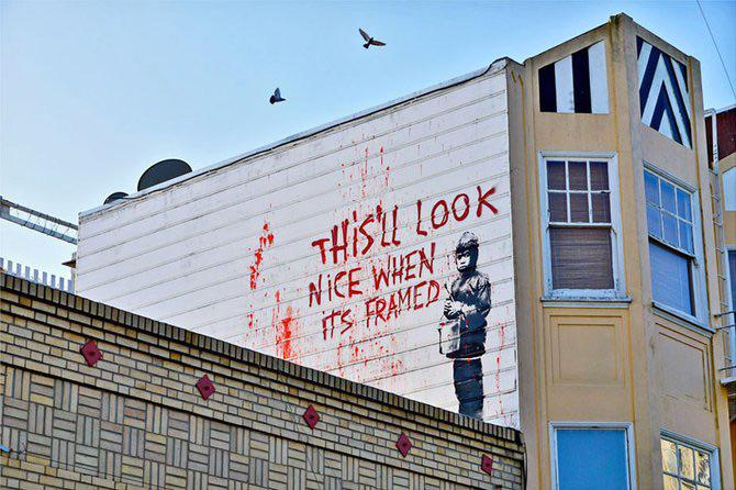 Anonimus de secol 21: Banksy - Poza 25
