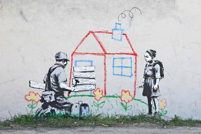 Anonimus de secol 21: Banksy - Poza 27