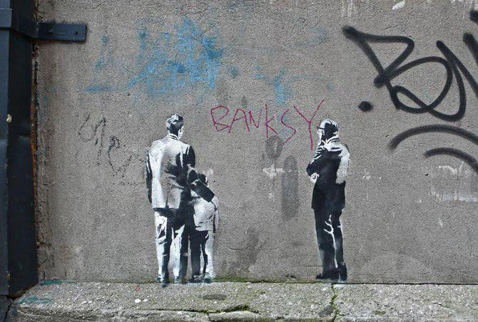 Anonimus de secol 21: Banksy - Poza 28