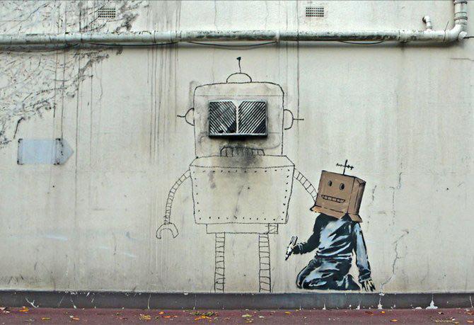 Anonimus de secol 21: Banksy - Poza 29