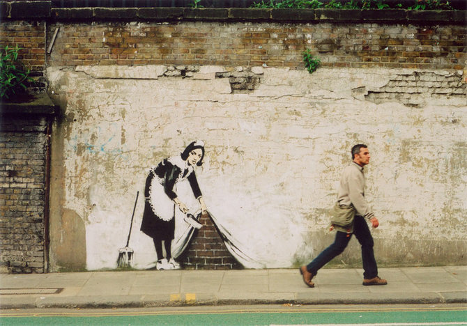 Anonimus de secol 21: Banksy - Poza 30