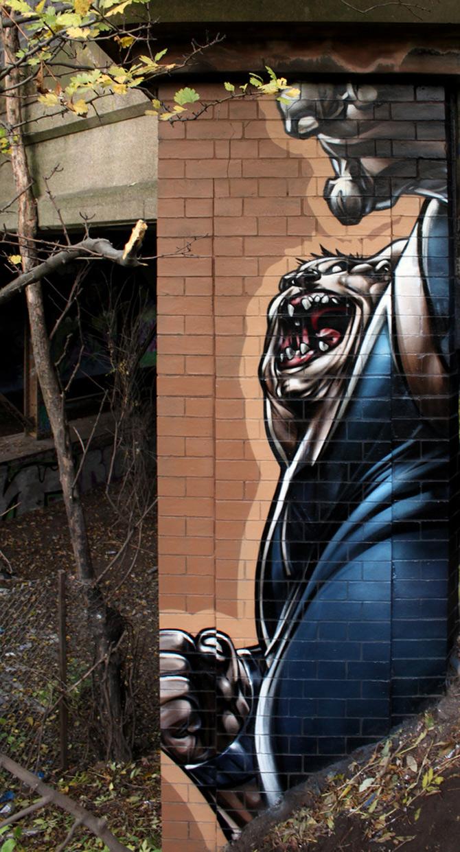 Graffiti pentru intelectuali, cu SmugOne - Poza 11