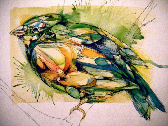 Cerneala, vopseluri si penaj: Abigail Diamond - Poza 3