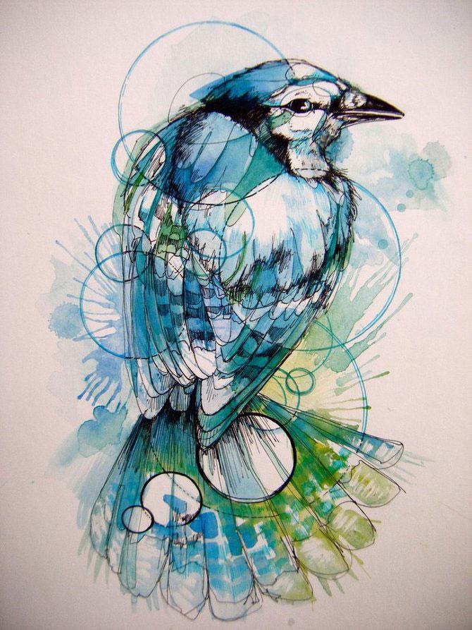 Cerneala, vopseluri si penaj: Abigail Diamond - Poza 15