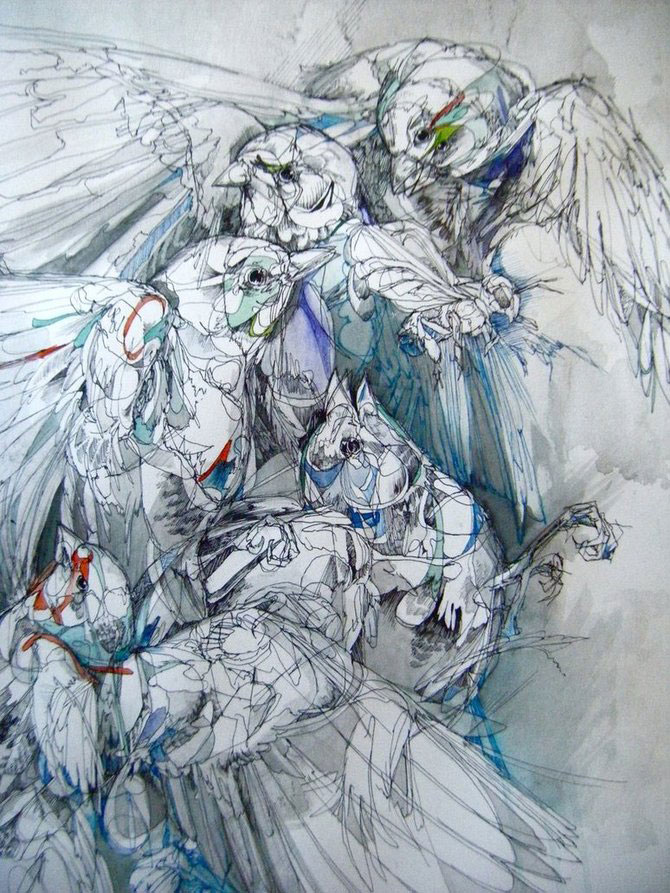 Cerneala, vopseluri si penaj: Abigail Diamond - Poza 16