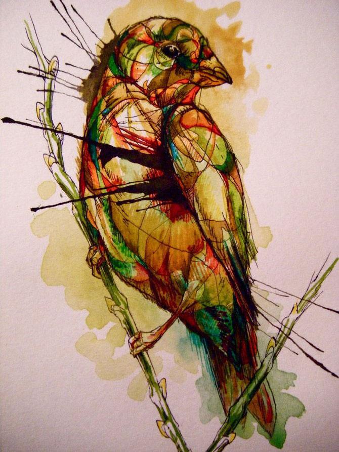 Cerneala, vopseluri si penaj: Abigail Diamond - Poza 19