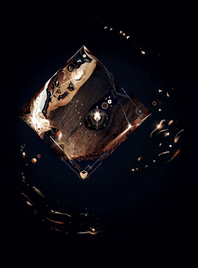 Geometrii descompuse de Ari Weinkle - Poza 8