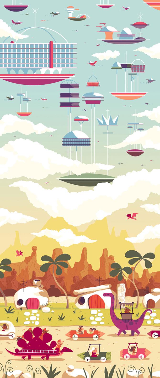 Desene animate in postere de Andrew Kolb - Poza 1