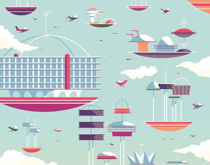 Desene animate in postere de Andrew Kolb - Poza 3