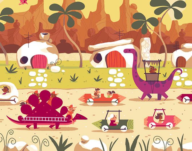 Desene animate in postere de Andrew Kolb - Poza 5