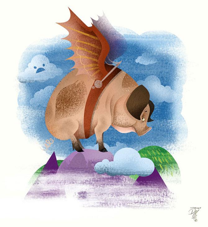Desene neanimate de Dave Mott - Poza 18