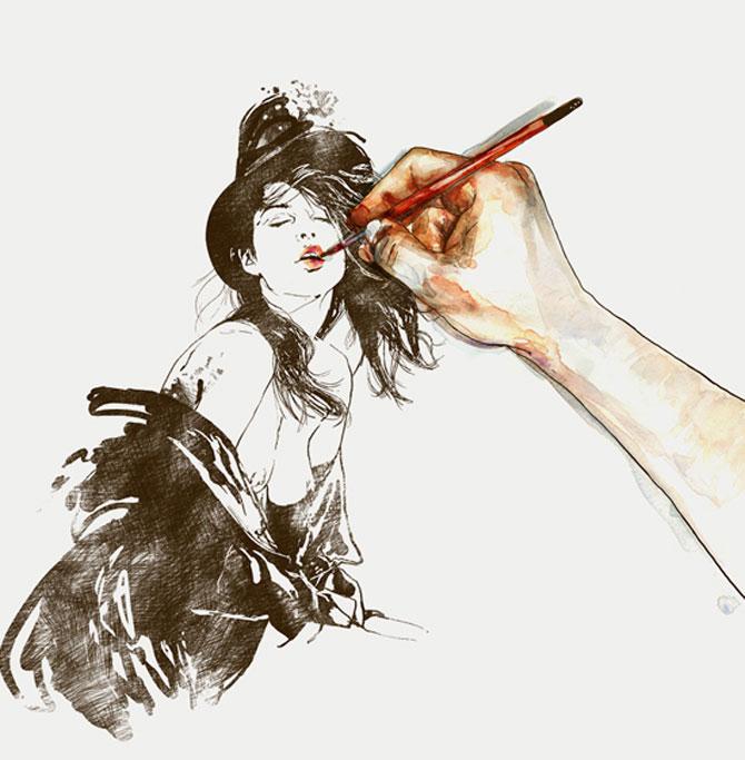 Crochiu burlesc, feminin, senzual de Matthieu Appriou - Poza 2