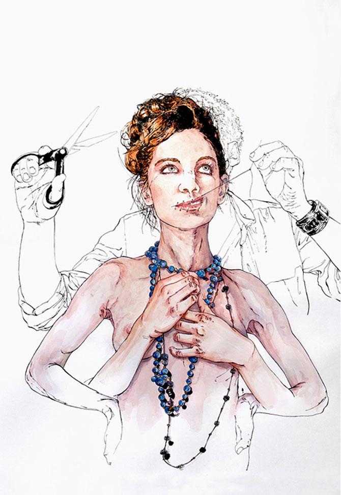 Crochiu burlesc, feminin, senzual de Matthieu Appriou - Poza 5