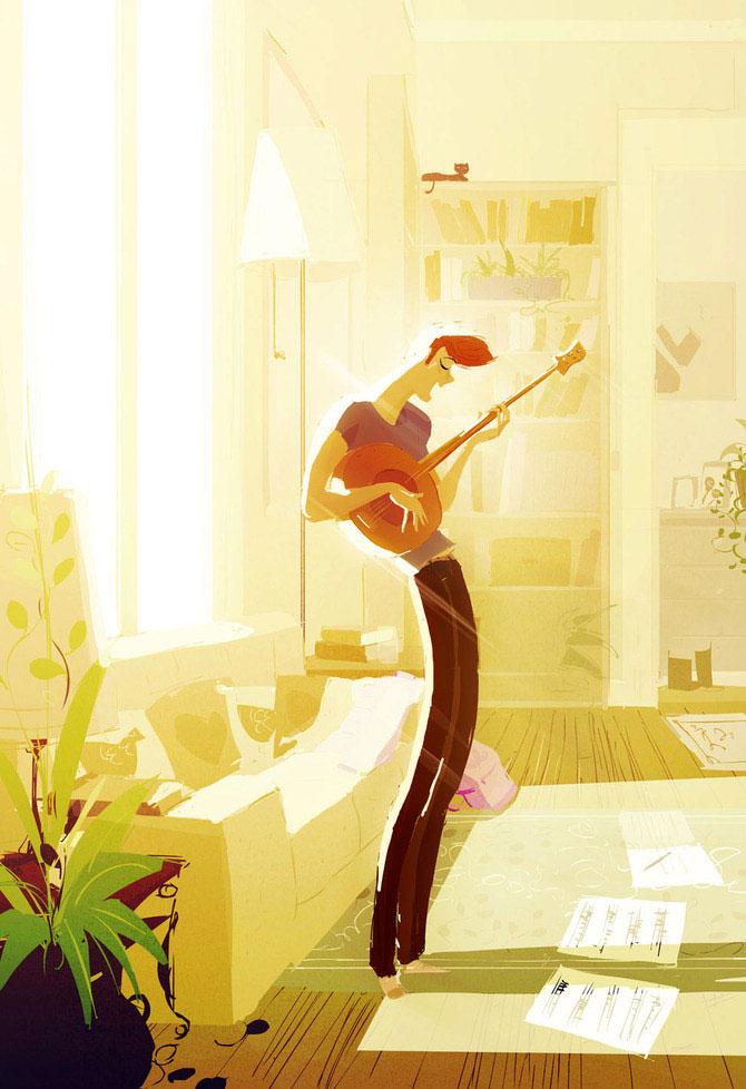 Pascal Campion deseneaza fericire - Poza 3