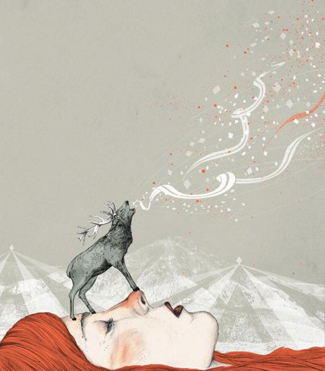 Basme nelinistitoare, ilustrate de Sandra Dieckmann - Poza 5