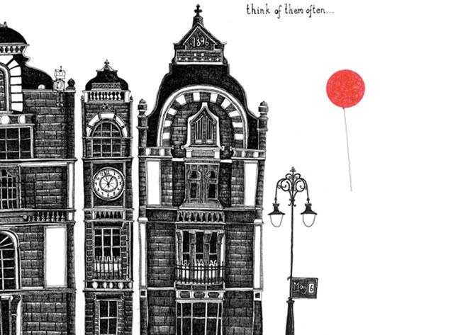 Proiectionistul, Parisul si grafica minimalista - Poza 4