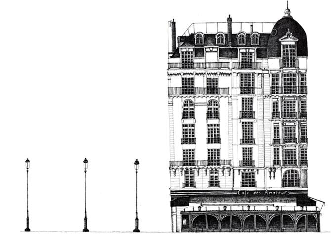 Proiectionistul, Parisul si grafica minimalista - Poza 11