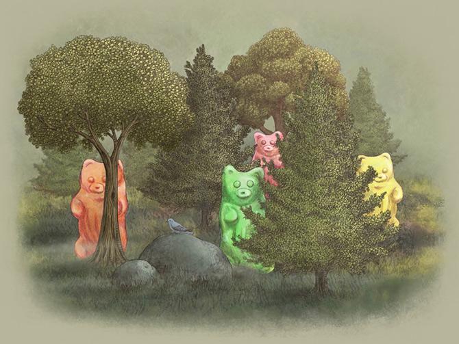 Terry Fan redeseneaza povestile pentru copii - Poza 16